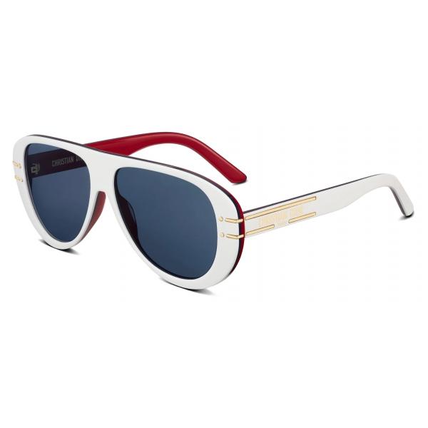 Dior - Occhiali da Sole - DiorSignature A2U DiorAlps - Blu Bianco Rosso - Dior Eyewear