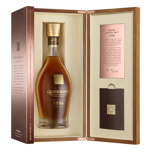 Glenmorangie - Grand Vintage Malt - 1996 - Boxed - Whisky - Exclusive Luxury Limited Edition - 700 ml