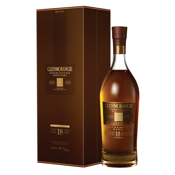 Glenmorangie - 18 Years Old - Boxed - Whisky - Exclusive Luxury Limited Edition - 700 ml