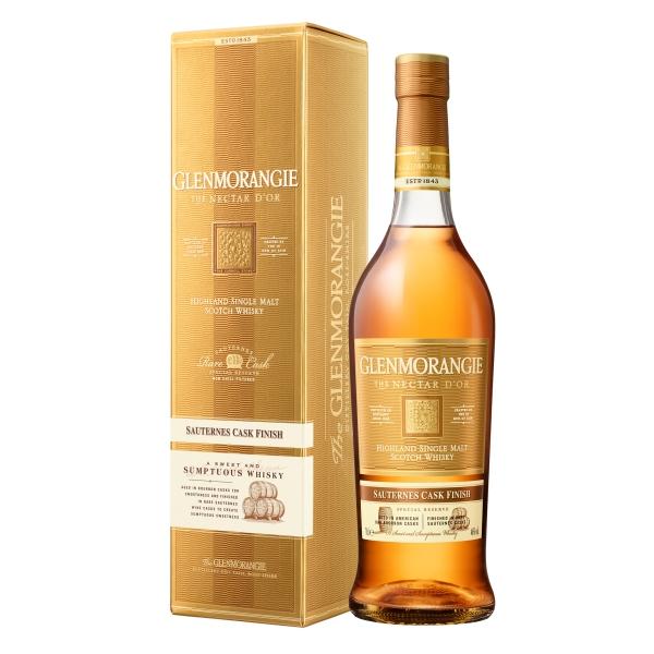Glenmorangie - Nectar d'Òr Sauternes Cask - Astucciato - Whisky - Exclusive Luxury Limited Edition - 700 ml