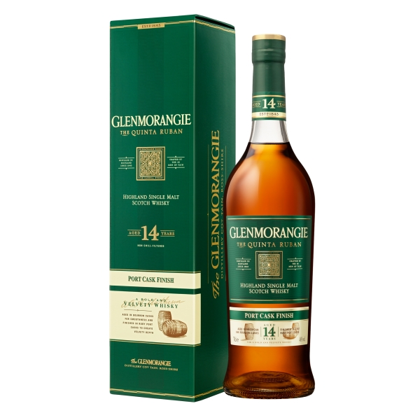 Glenmorangie - Quinta Ruban Port Cask - Boxed - Whisky - Exclusive Luxury Limited Edition - 700 ml
