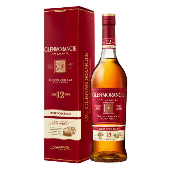 Glenmorangie - Lasanta Sherry Cask - 12 Years - Boxed - Whisky - Exclusive Luxury Limited Edition - 700 ml
