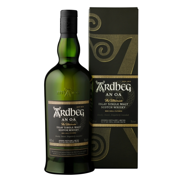 Ardbeg - An Oa - Boxed - Whisky - Exclusive Luxury Limited Edition - 700 ml
