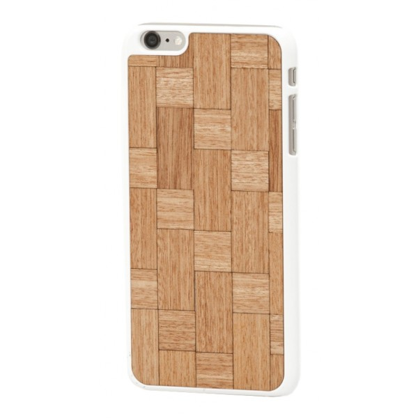 Wood'd - Mahogany Twist Cover - iPhone 8 / 7 - Cover in Legno - Classic Collection