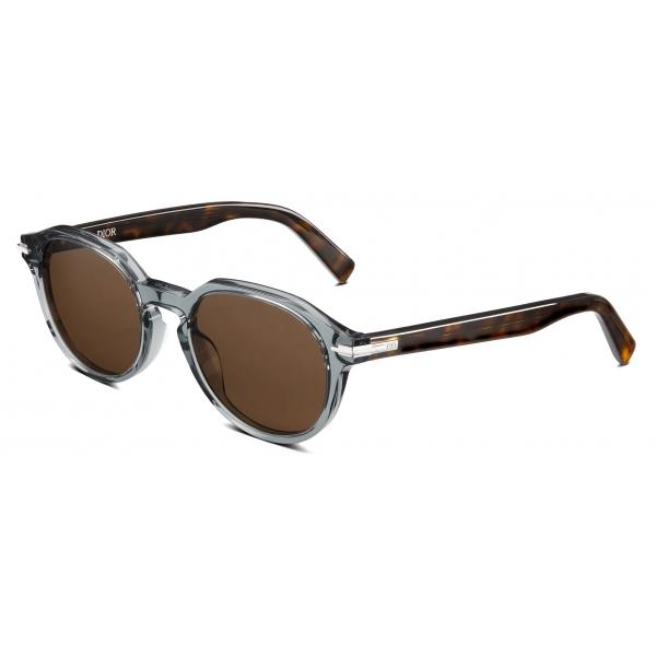Dior - Occhiali da Sole - DiorBlackSuit R2I - Blu Grigio Marrone Tartaruga - Dior Eyewear