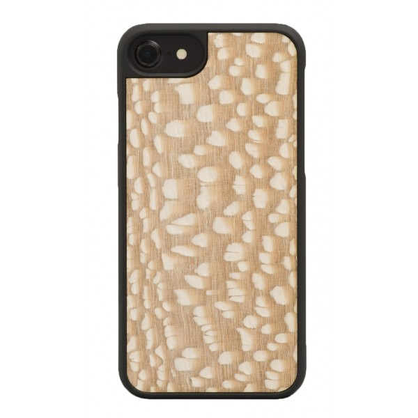 Wood'd - Carbalho White Cover - iPhone 8 / 7 - Cover in Legno - Classic Collection