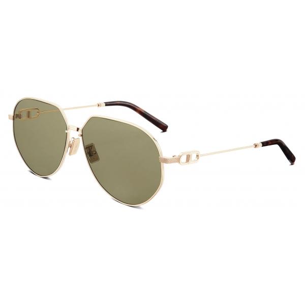Dior - Occhiali da Sole - CD Link A1U - Oro Verde - Dior Eyewear