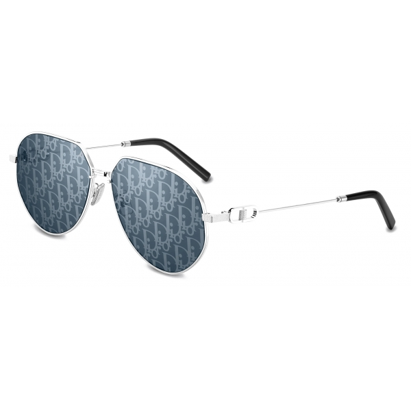 Dior - Occhiali da Sole - CD Link A1U - Argento Blu - Dior Eyewear