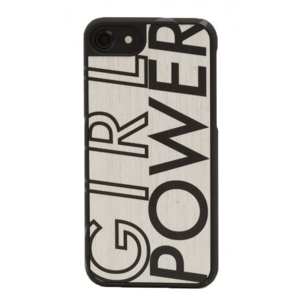 Wood'd - IWD Girl Power Cover - iPhone 8 / 7 - Cover in Legno - Type Collection