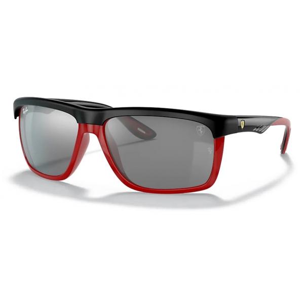 Ferrari - Ray-Ban - RB4363M F6026G 61-15 - Official Original Scuderia New Collection - Occhiali da Sole - Eyewear
