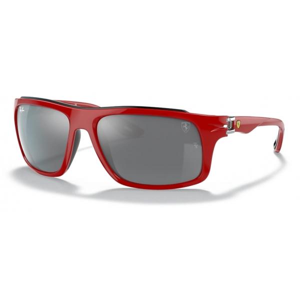 Ferrari - Ray-Ban - RB4364M F6236G 61-17 - Official Original Scuderia New Collection - Occhiali da Sole - Eyewear