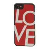 Wood'd - Capital Love Cover - iPhone 8 / 7 - Cover in Legno - Type Collection