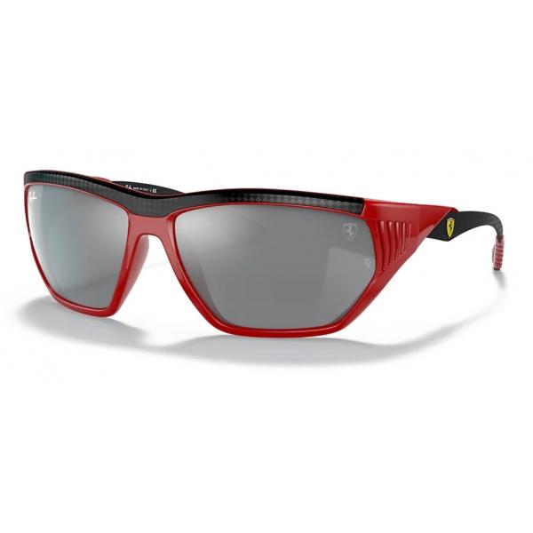 Ferrari - Ray-Ban - RB8359M F6636G 64-16 - Official Original Scuderia Ferrari New Collection - Sunglasses – Eyewear