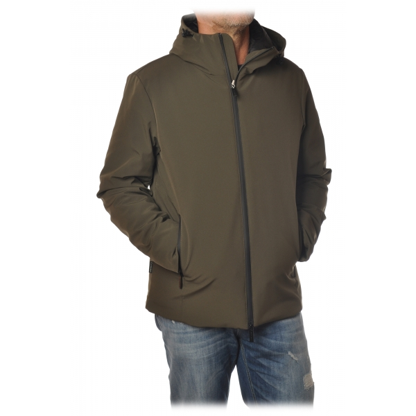 Woolrich - Piumino in Tessuto Tecnico - Verde - Giacca - Luxury Exclusive Collection