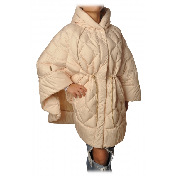 Woolrich - Piumino Modello Mantella - Avorio - Giacca - Luxury Exclusive Collection