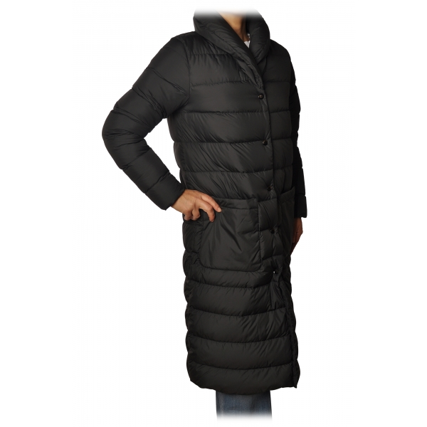 Woolrich - Piumino Lungo Trapuntato - Nero - Giacca - Luxury Exclusive Collection