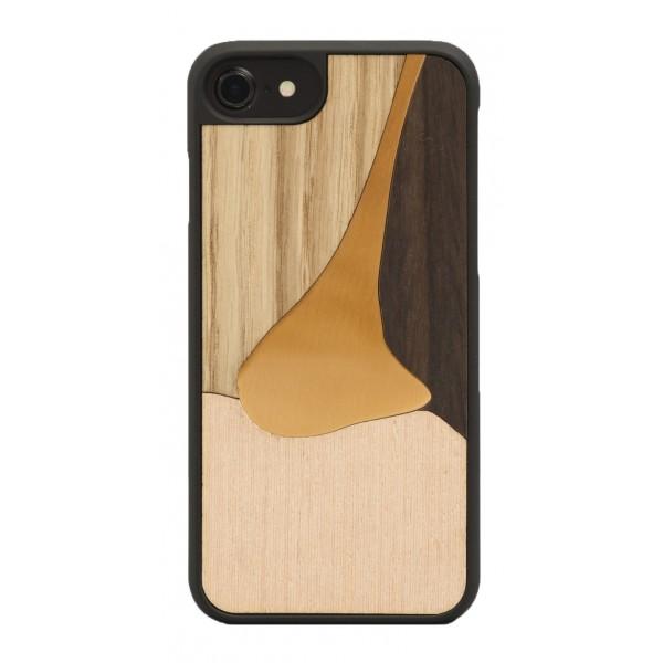 Wood'd - Bronzo Rosa Cover - iPhone 8 Plus / 7 Plus - Cover in Legno - Bronze Classics
