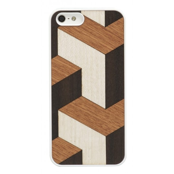 Wood'd - Tumble Cover - iPhone 8 Plus / 7 Plus - Cover in Legno - Classic Collection