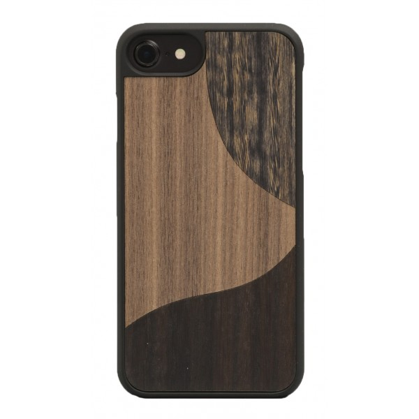 Wood'd - Inlay Walnut Cover - iPhone 8 Plus / 7 Plus - Cover in Legno - Classic Collection