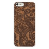Wood'd - Damasked Mahogany Cover - iPhone 8 Plus / 7 Plus - Cover in Legno - Classic Collection