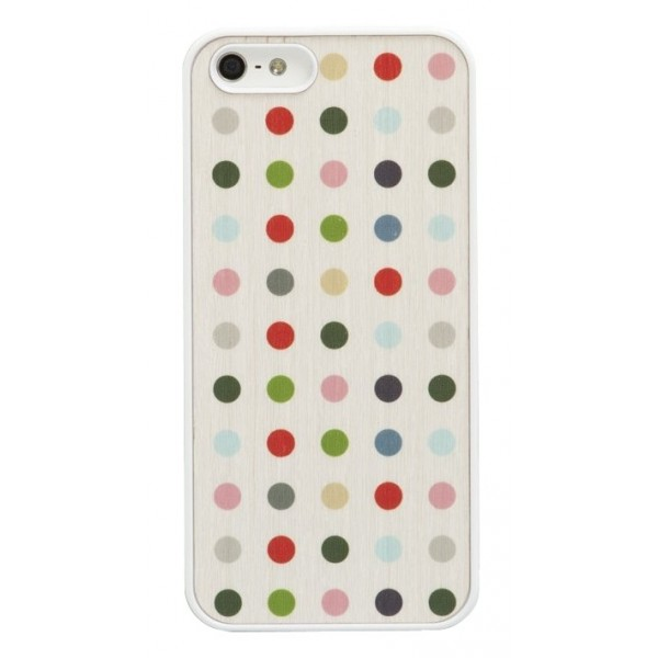 Wood'd - Colored Pois Cover - iPhone 8 Plus / 7 Plus - Cover in Legno - Classic Collection