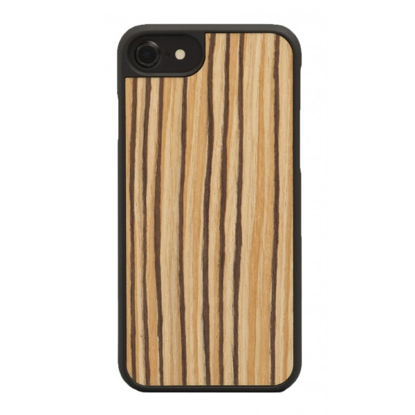 Wood'd - Zebrawood Cover - iPhone 8 Plus / 7 Plus - Cover in Legno - Classic Collection