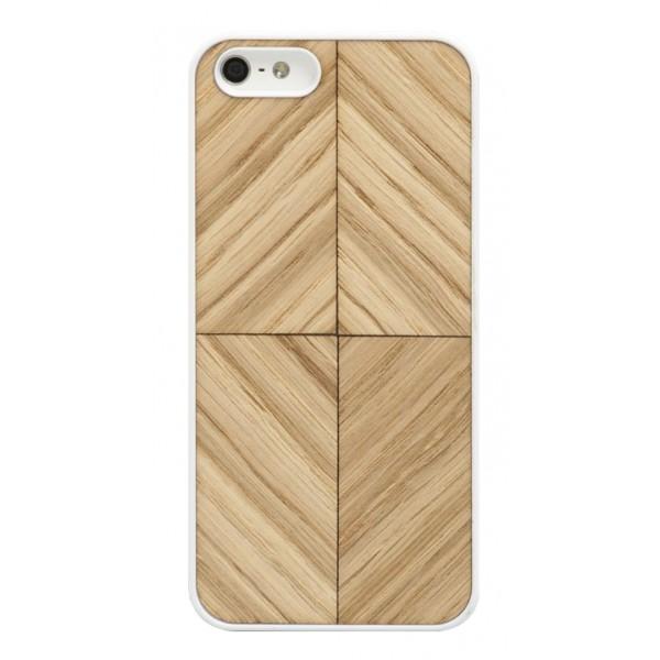 Wood'd - Vortex Oak Cover - iPhone 8 Plus / 7 Plus - Cover in Legno - Classic Collection