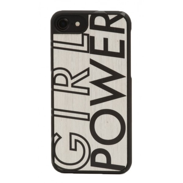 ea836f6abd Wood'd - IWD Girl Power Cover - iPhone 8 Plus / 7 Plus - Wooden Cover -  Type Collection - Avvenice