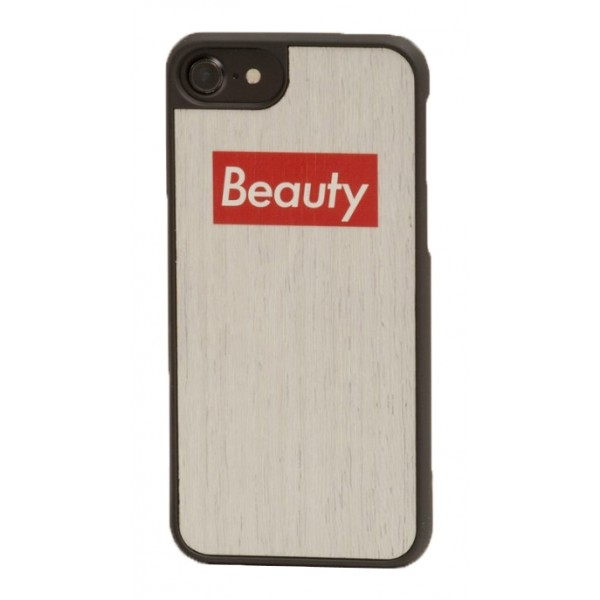 Wood'd - Beauty Boxed Cover - iPhone 8 Plus / 7 Plus - Cover in Legno - Type Collection
