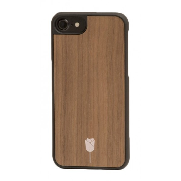 Wood'd - Rose Walnut Cover - iPhone 8 Plus / 7 Plus - Cover in Legno - Type Collection