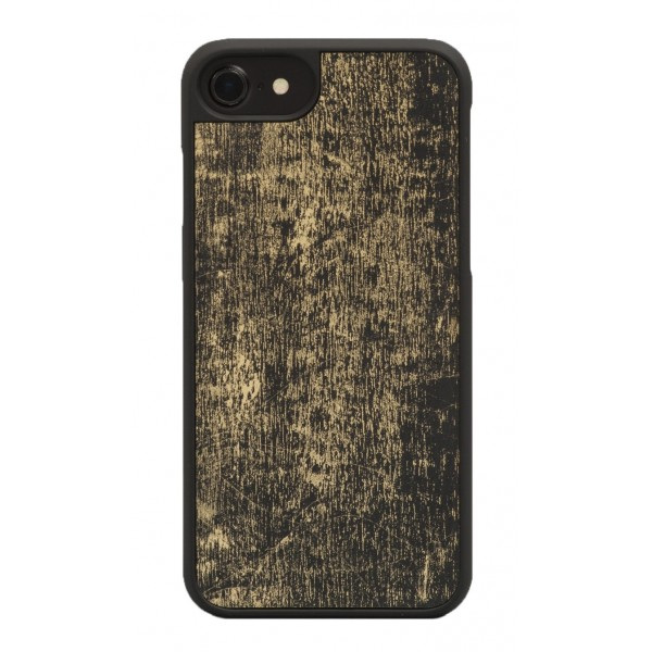 Wood'd - Gold Black Cover - Samsung S7 - Wooden Cover - Vintage Collection