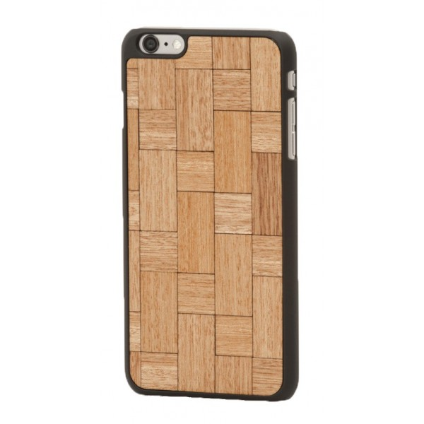 Wood'd - Mahogany Twist Cover - Samsung S7 - Wooden Cover - Classic Collection