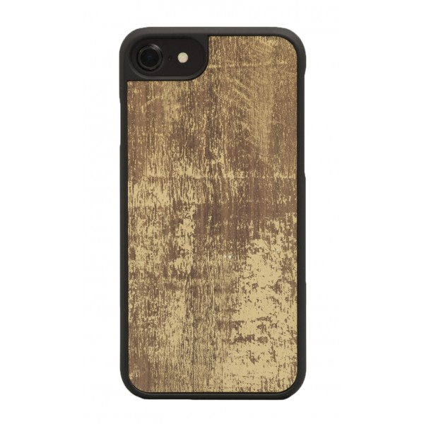 Wood'd - Gold Walnut Cover - Samsung S7 Edge - Wooden Cover - Vintage Collection