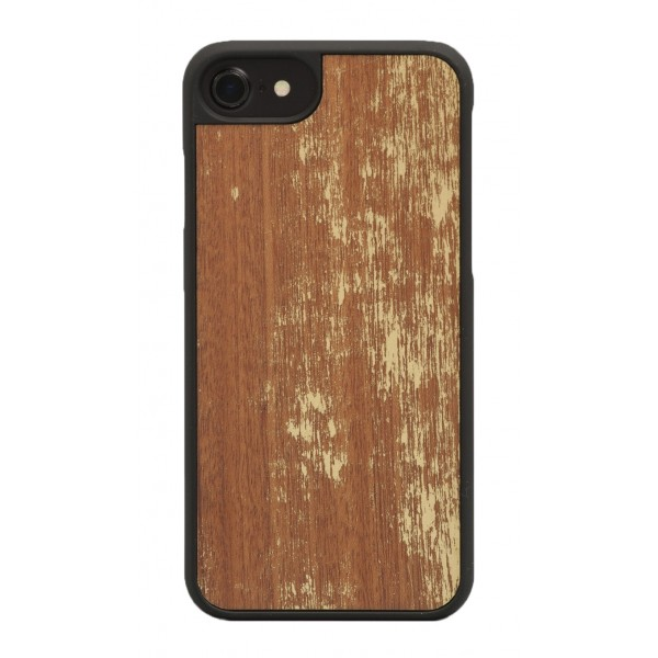 Wood'd - Gold Mahogany Cover - Samsung S7 Edge - Wooden Cover - Vintage Collection
