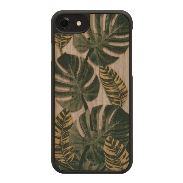 Wood'd - Tropical Cover - Samsung S7 Edge - Wooden Cover - Classic Collection