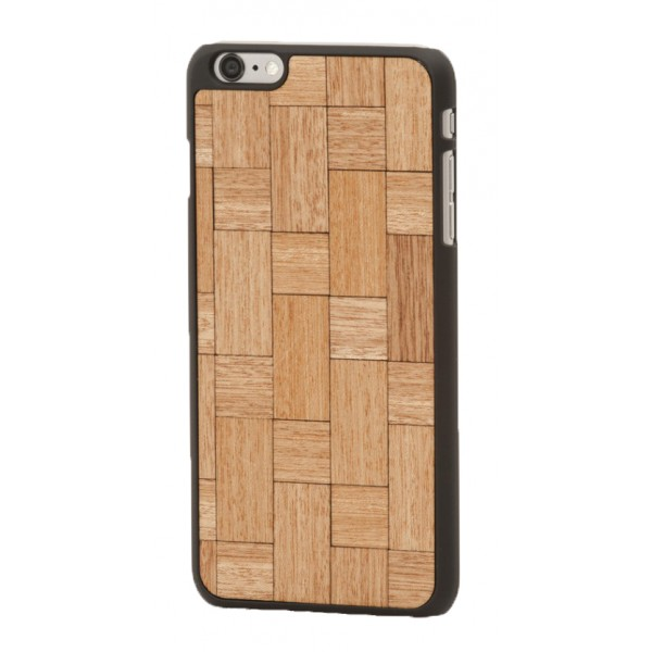 Wood'd - Mahogany Twist Cover - Samsung S7 Edge - Wooden Cover - Classic Collection