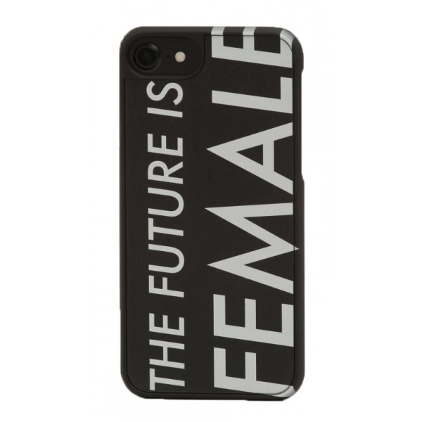 Wood'd - IWD Future is Female Cover - Samsung S7 Edge - Wooden Cover - Type Collection