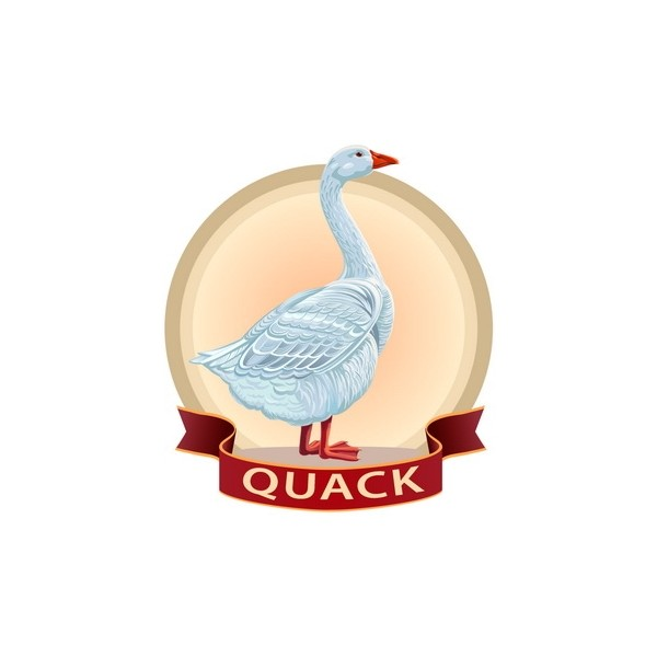 Quack Italia - Anatra Busto Quack - Carni - 2000 g