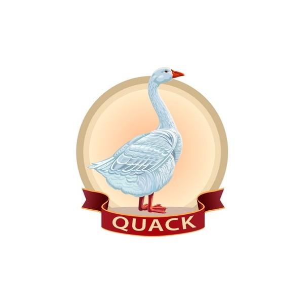Quack Italia - Fresh Goose Breast Double Quack - Meat - 750 g
