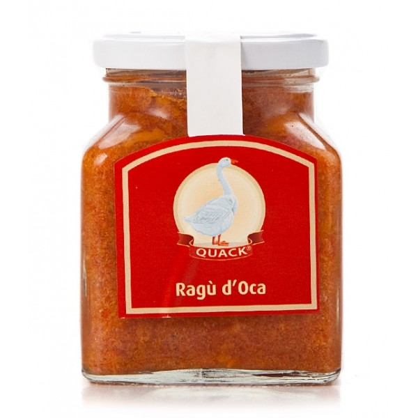 Quack Italia - Ragù d'Oca Quack - Ragu - 280 g