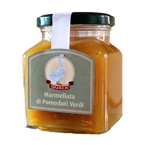 Quack Italia - Marmellata di Pomodori Verdi Quack - Marmellata - 280 g
