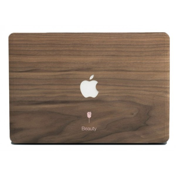 Wood'd - Beauty Skin - MacBook Pro - Wooden Skin - Type Collection