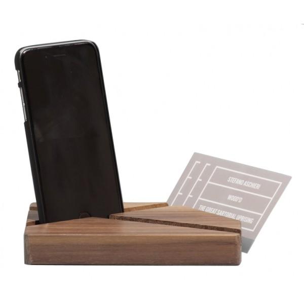 Wood'd - Universal Dock Walnut - Desk Supplier - Wood'd Desk Collection