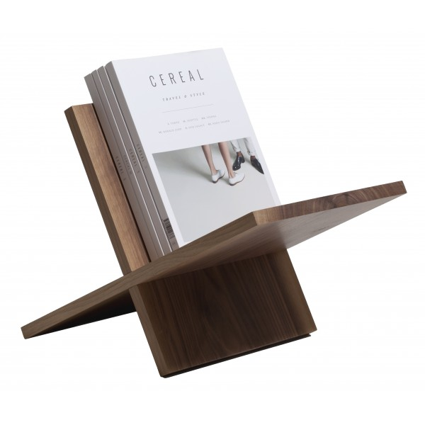 Wood'd - Magazine Rack Walnut - Desk Supplier - Wood'd Desk Collection