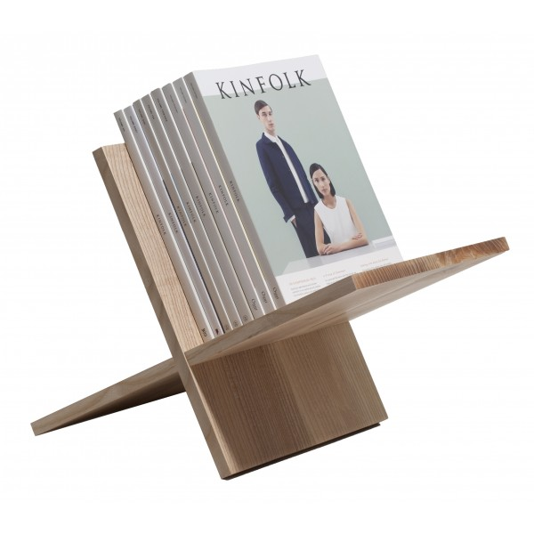 Wood'd - Magazine Rack Ashwood - Desk Supplier - Wood'd Desk Collection