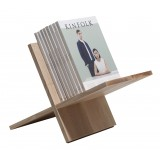 Wood'd - Porta Riviste Frassino - Desk Supplier - Wood'd Desk Collection
