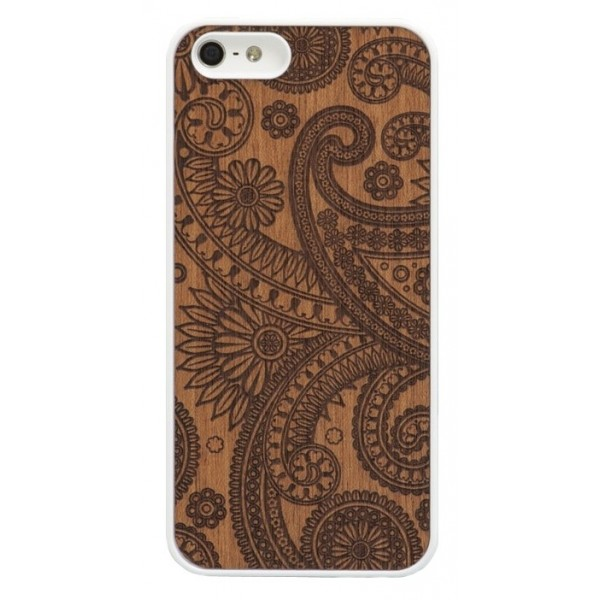 Wood'd - Damasked Mahogany Cover - iPhone 6/6s - Cover in Legno - Classic Collection