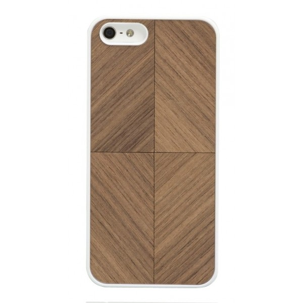 Wood'd - Vortex Walnut Cover - iPhone 6/6s - Cover in Legno - Classic Collection