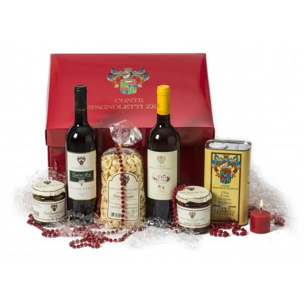 """Conte Spagnoletti Zeuli - Gift Idea """"Wow"""" - Pezzalaruca - Jody-Murgia - Oil - Castel del Monte - D.O.C.G. - D.O.P."""