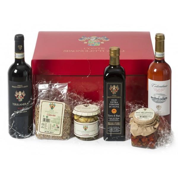 """Conte Spagnoletti Zeuli - Gift Idea """"Love"""" - Terranera - Colombaio - Oil - Castel del Monte - D.O.C.G. - D.O.P."""